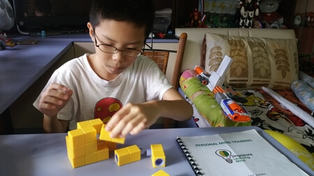 Using Block To Train Child's Mind